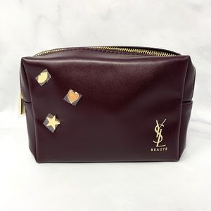 NEW YSL Yves Saint Laurent Makeup Cosmetic Bag